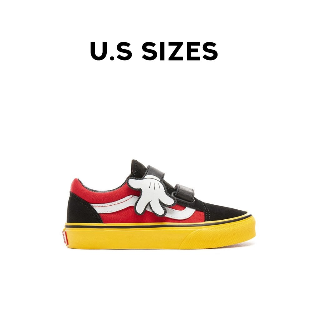 a321410674 Vans x Disney Old Skool Velcro Kids