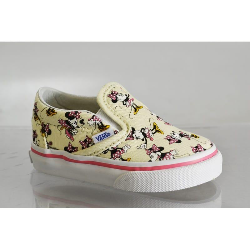 ffc731890ae Vans x Disney Slipon Toddlers Minnie Mouse