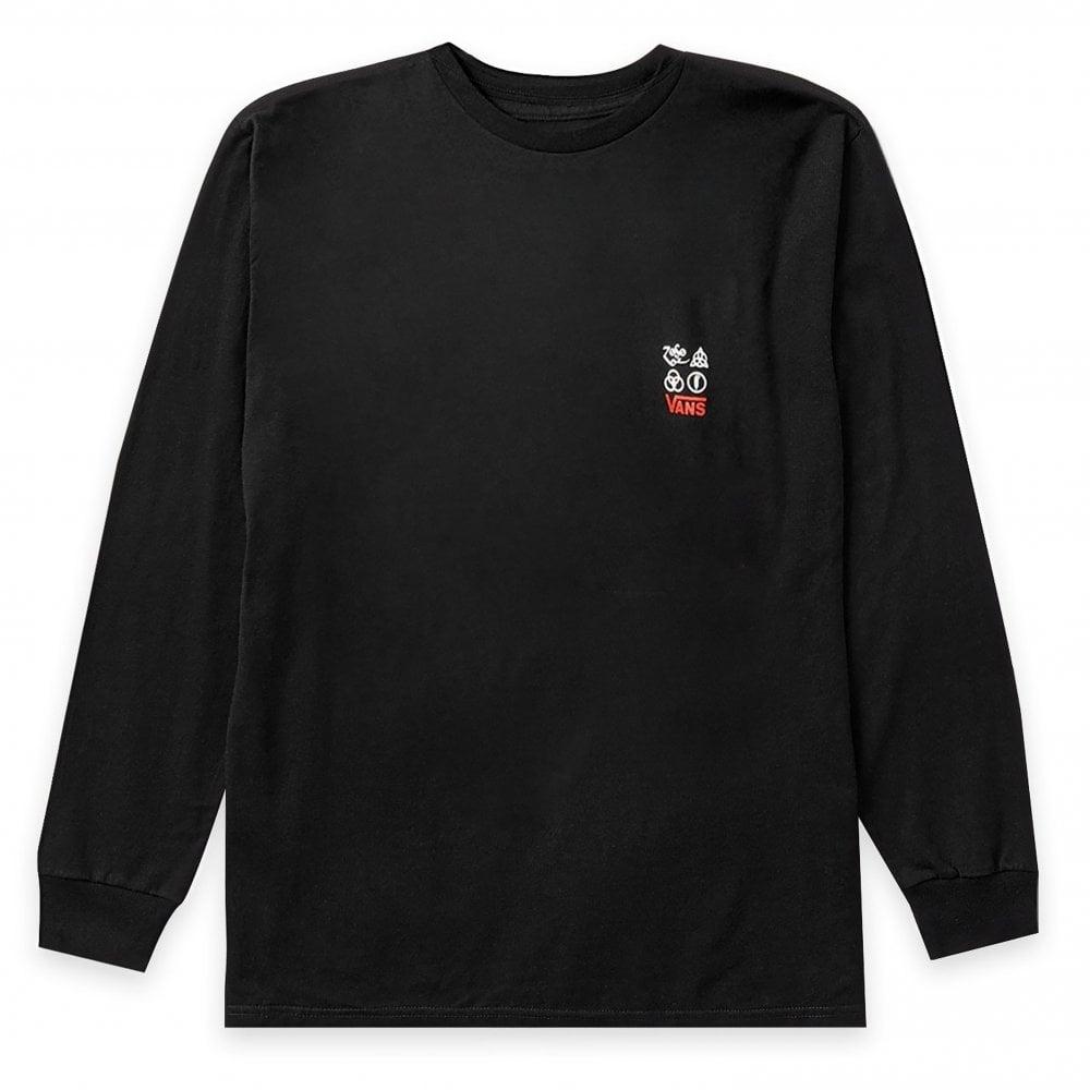 4336b0ebc1 x Led Zeppelin Long Sleeve T-Shirt - Black