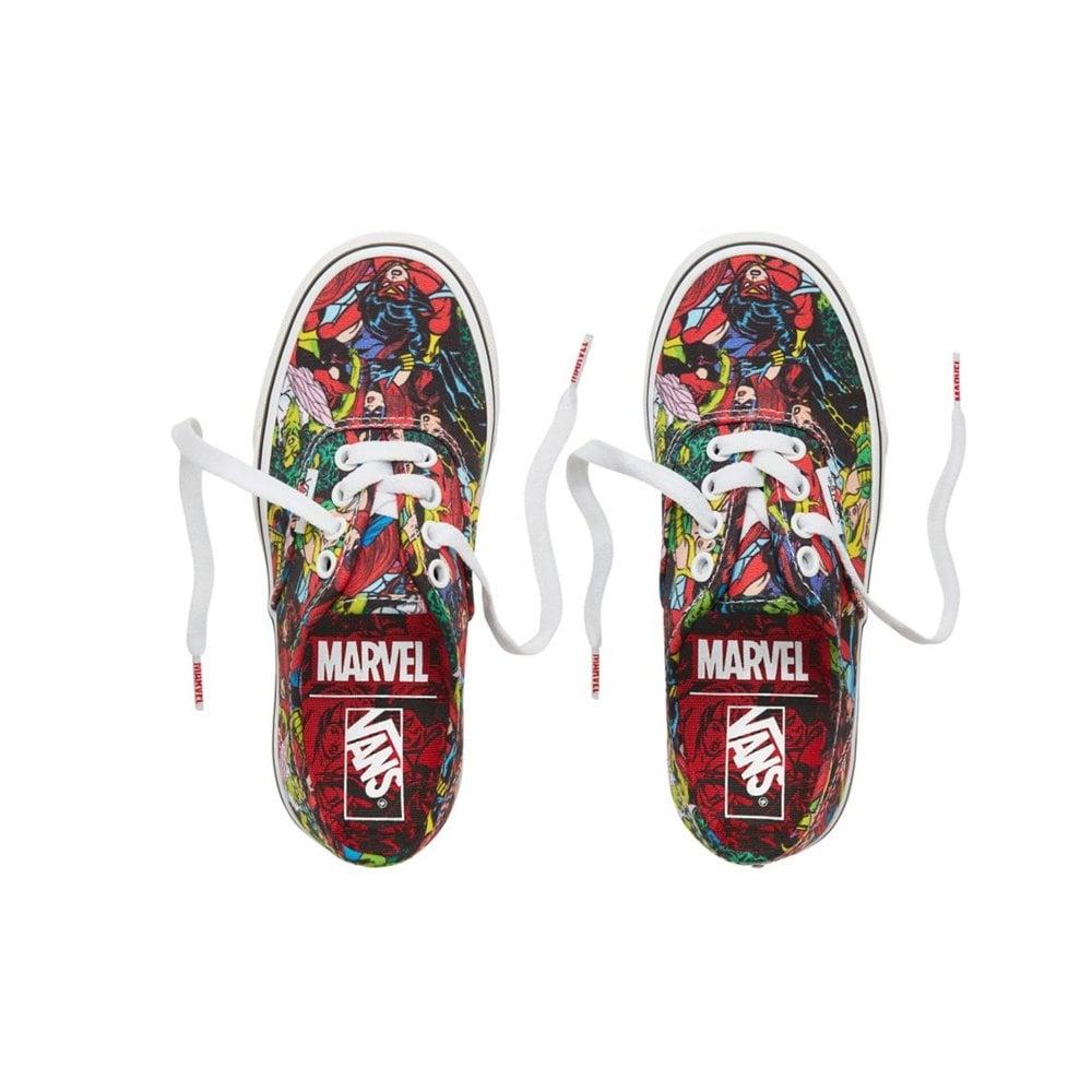 8e69020267 Vans x Marvel Authentic Kids