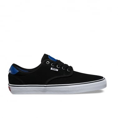 x Real Skateboards Chima Ferguson Pro - Black/True Blue