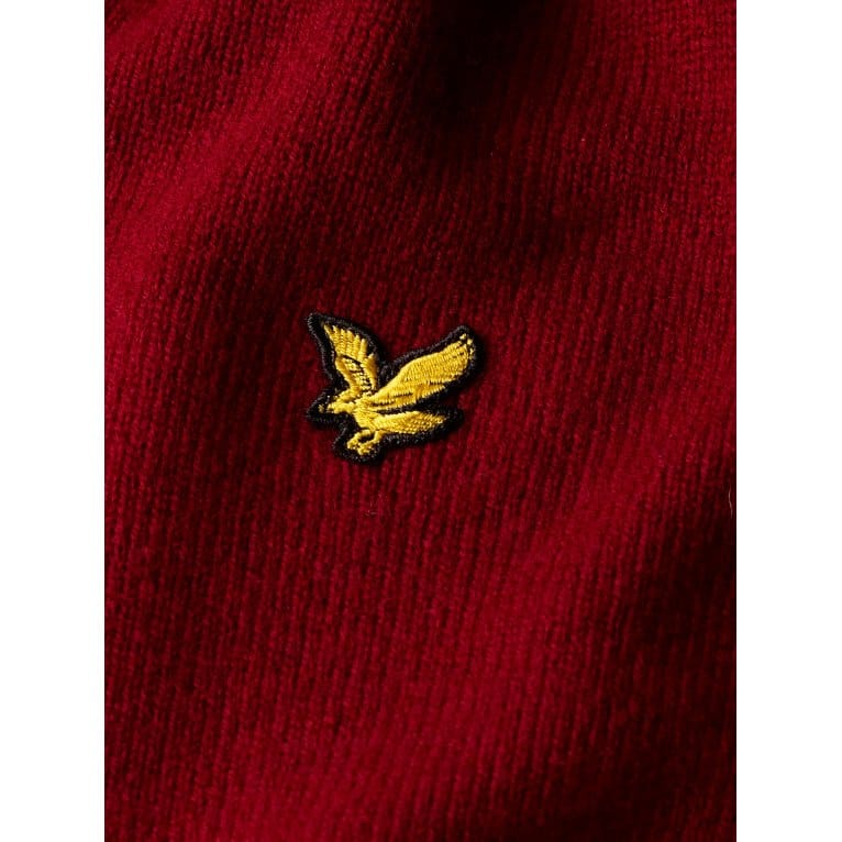 Lyle & Scott Vn Pullover Berry
