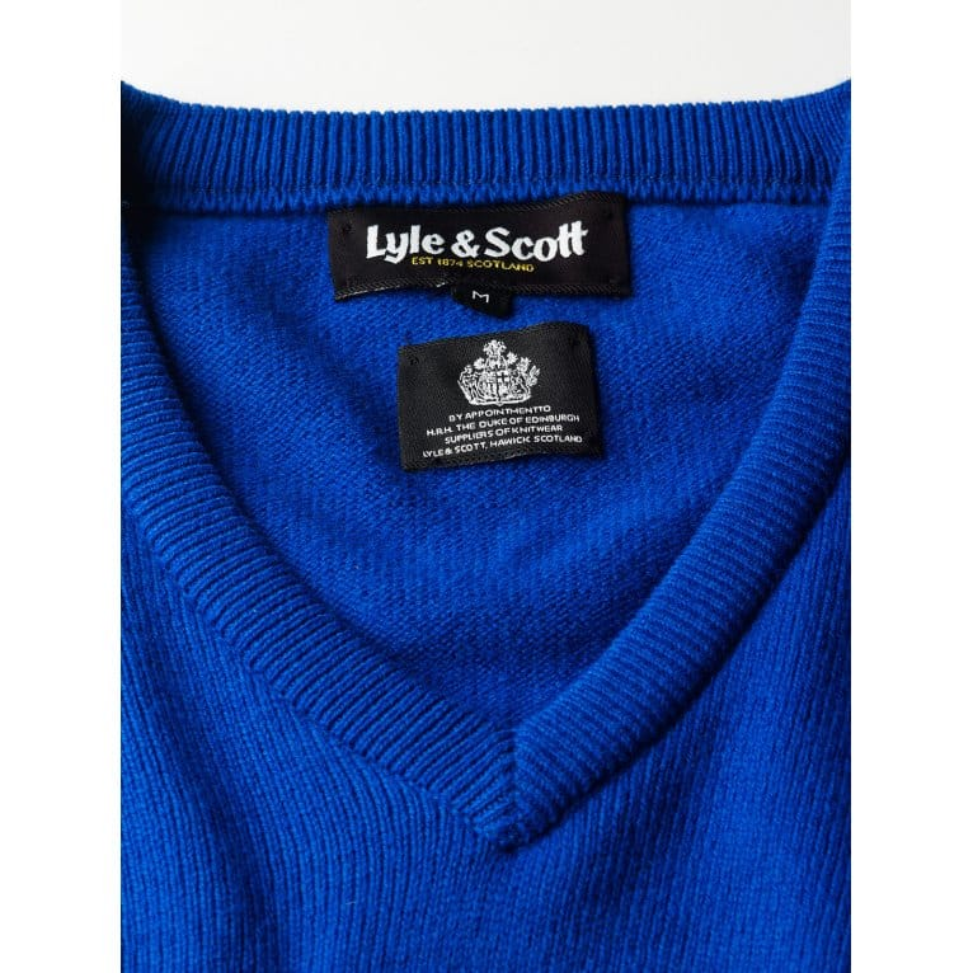 Lyle & Scott Vn Pullover True Blue