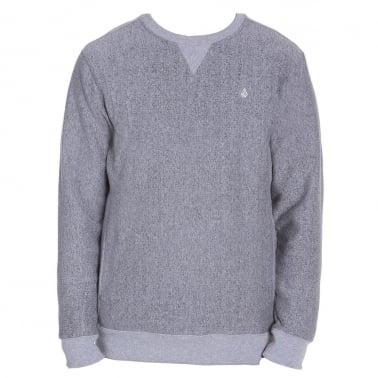 Static Stone Crew Neck Sweatshirt - Grey