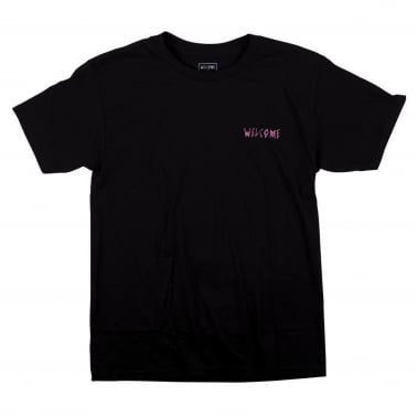 Latin Talisman T-Shirt - Black/White/Pink