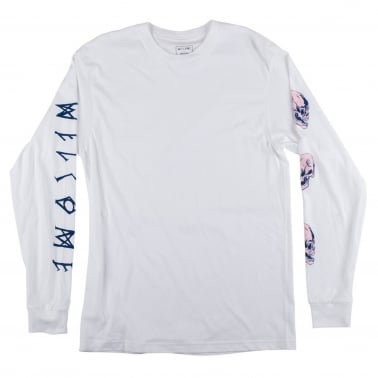 Sapien Long Sleeve T-Shirt - White