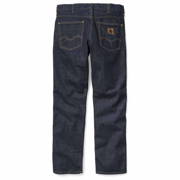 Carhartt WIP Western Edge II Blue Rinsed Jeans