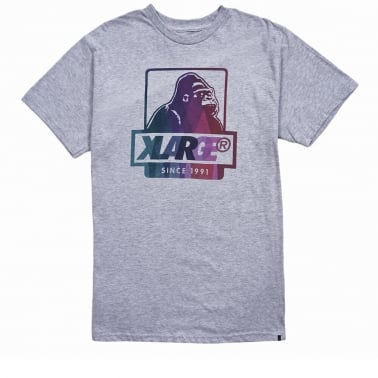 Bay G Rilla T-shirt - Grey Heather