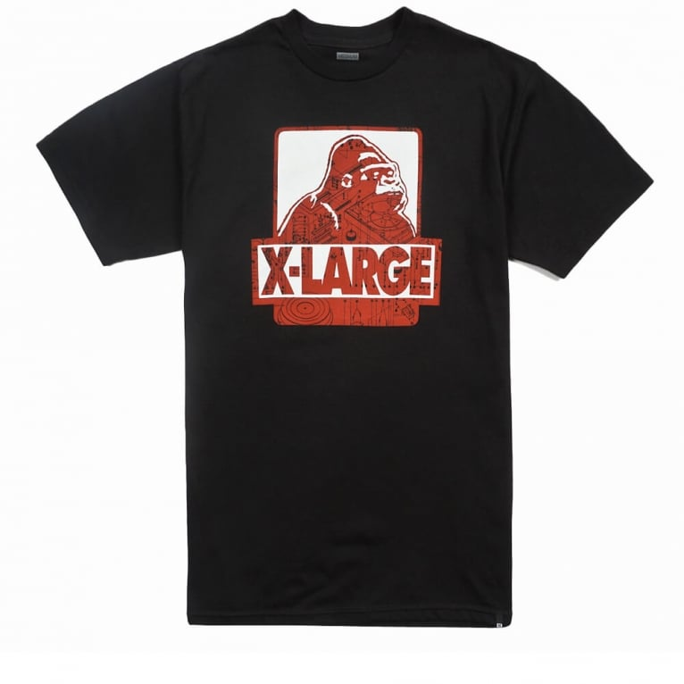 X-Large Exploded T-shirt - Black