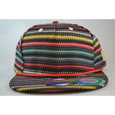 Zigzag Snap Black/Multi